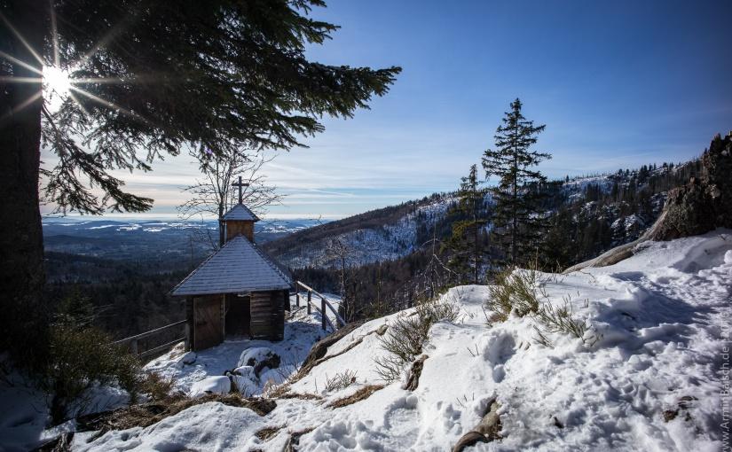 Winterlandschaft rund um den Großen Rachel